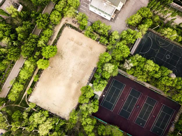 Descontaminação e Higienização de quadras de areia - Rio de Janeiro